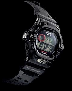 นาฬิกาสายยาง เรซิ่น สีดำ รุ่น G-9200