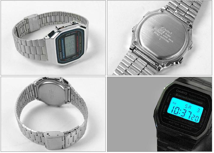 นาฬิกาสีเงิน