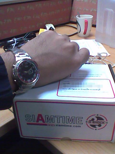 รีวิว นาฬิก Casio Edifice รุ่น EFA-121D-1AVDF