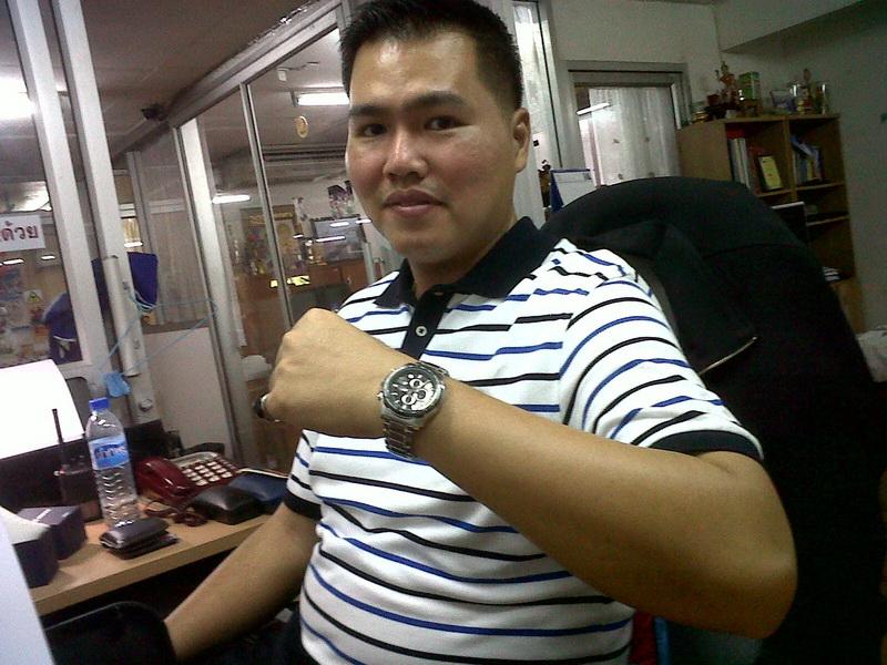 นาฬิกา Casio รุ่น EF-563DB-1AVDF