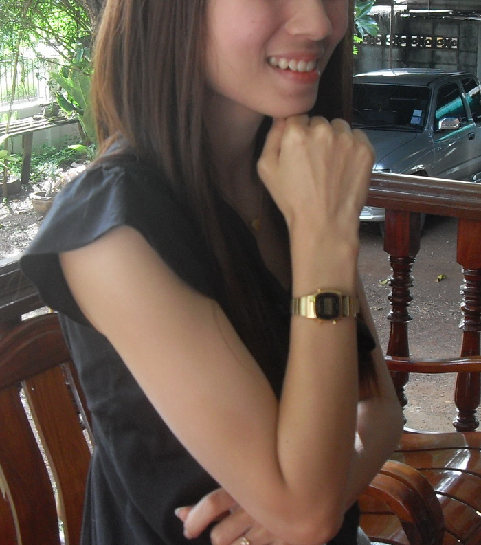 นาฬิกาสวยมากเลยค่ะ