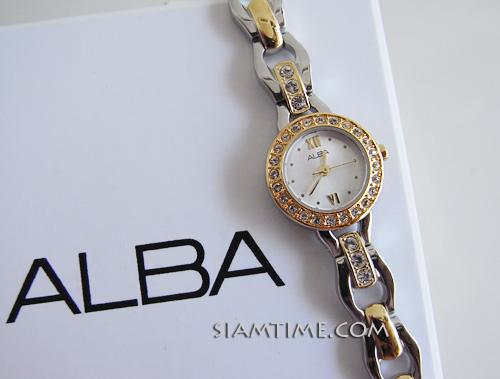 นาฬิกาสตรี ยี่ห้อ alba รุ่น AC3T32X