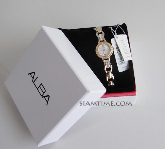นาฬิกาสุภาพสตรี ยี่ห้อ alba รุ่น AC3T32X