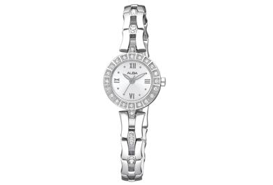 นาฬิกาข้อมือผู้หญิง  ยี่ห้อ อัลบา รุ่น AC3T67X