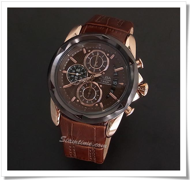 นาฬิกาข้อมือผู้ชาย  ยี่ห้อ อัลบา รุ่น AF8P18X