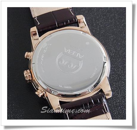 นาฬิกาข้อมือผู้ชาย  ยี่ห้อ อัลบา รุ่น AF8P80X