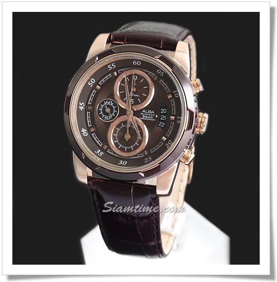 นาฬิกาข้อมือผู้ชาย  ยี่ห้อ อัลบา รุ่น AF8P82X