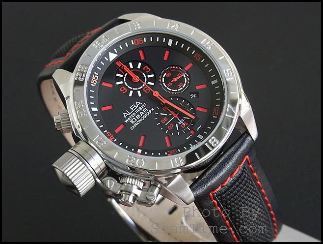 นาฬิกาข้อมือ  ยี่ห้อ อัลบา รุ่น AF8R07