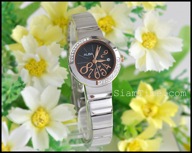 นาฬิกาข้อมือชายและหญิง ยี่ห้อ seiko รุ่น AH7121X