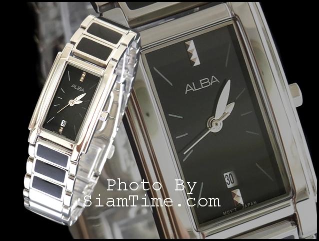 นาฬิกาข้อมือผู้หญิง ยี่ห้อ อัลบา รุ่น AH7157X