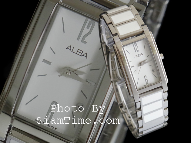 นาฬิกาข้อมือผู้หญิง ยี่ห้อ อัลบา รุ่น AH7161X