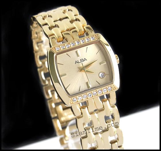 นาฬิกาข้อมือผู้หญิง ยี่ห้อ อัลบา รุ่น AH7164X