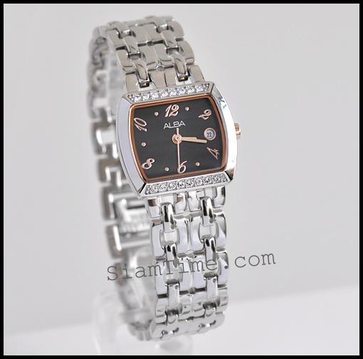นาฬิกาข้อมือผู้หญิง ยี่ห้อ อัลบา รุ่น AH7169X