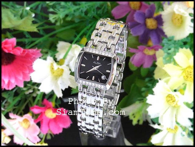 นาฬิกาข้อมือผู้หญิง ยี่ห้อ อัลบา รุ่น AH7175X