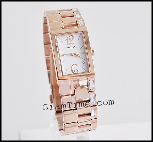 นาฬิกาข้อมือผู้หญิง ยี่ห้อ อัลบา รุ่น AH7182X