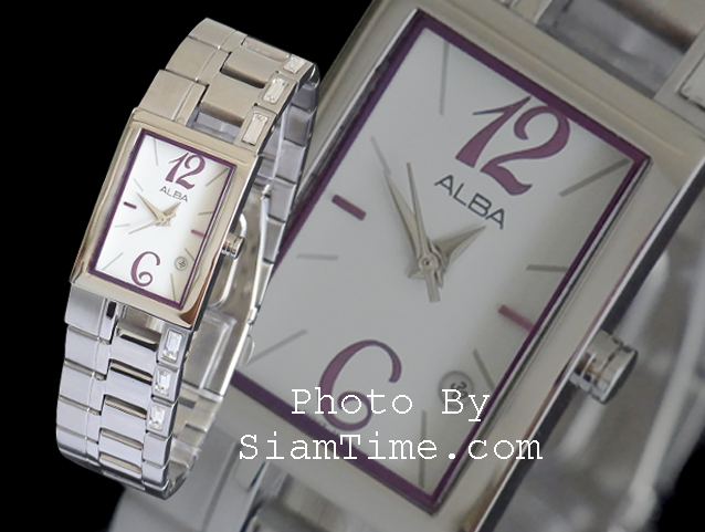 นาฬิกาข้อมือผู้หญิง ยี่ห้อ อัลบา รุ่น AH7193X