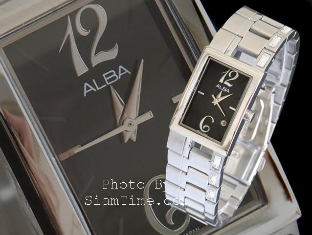 นาฬิกาข้อมือผู้หญิง ยี่ห้อ อัลบา รุ่น AH7195X