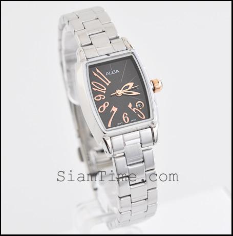 นาฬิกาข้อมือผู้หญิง ยี่ห้อ อัลบา รุ่น AH7233X
