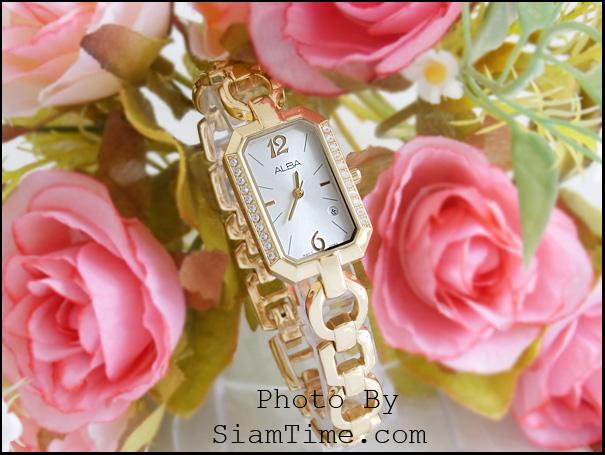 นาฬิกาข้อมือผู้หญิง ยี่ห้อ อัลบา รุ่น AH7274