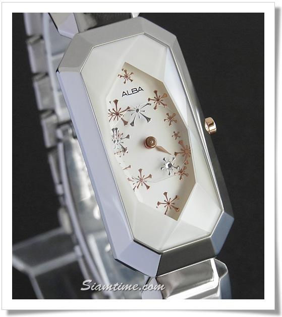 นาฬิกาข้อมือผู้หญิง ยี่ห้อ อัลบา รุ่น AP3075X