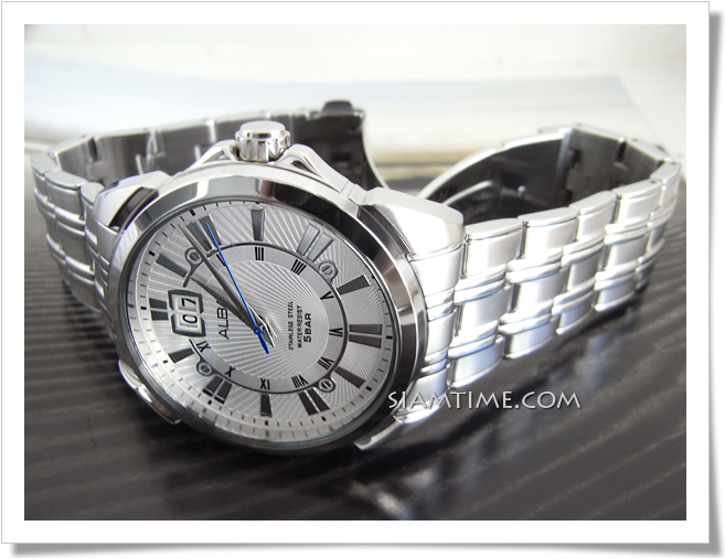 นาฬิกาข้อมือผู้ชาย สีขาว ยี่ห้อ อัลบา รุ่น AQ5003X