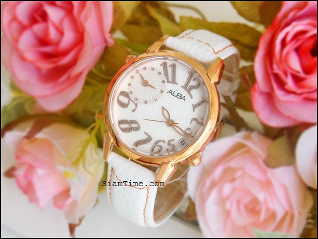 นาฬิกาผู้หญิง ยี่ห้อ alba ar4012x