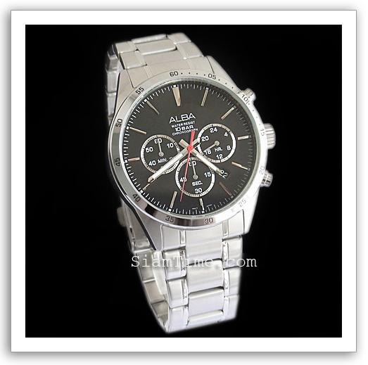 นาฬิกาข้อมือชายและหญิง ยี่ห้อ seiko รุ่น AT3007