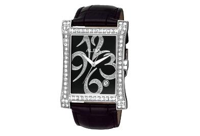 นาฬิกาข้อมือผู้หญิง  ยี่ห้อ อัลบา รุ่น AXHF25X