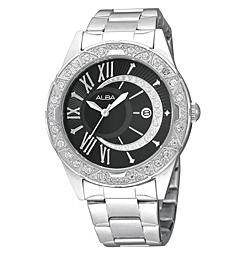 นาฬิกาข้อมือผู้หญิง  ยี่ห้อ อัลบา รุ่น AXHH35X