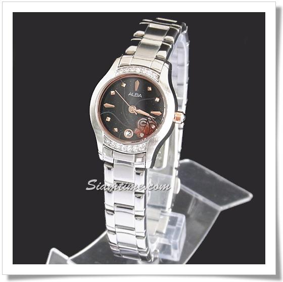 นาฬิกาข้อมือผู้หญิง ยี่ห้อ อัลบา รุ่น AXT371X