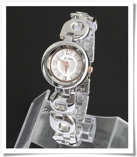 นาฬิกาข้อมือสตรี ยี่ห้อ อัลบา รุ่น AXT673X