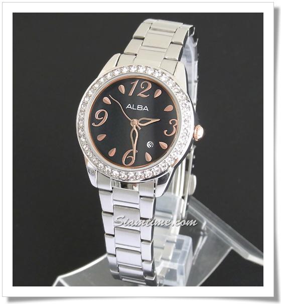 นาฬิกาข้อมือ ยี่ห้อ อัลบา รุ่น AXT811X