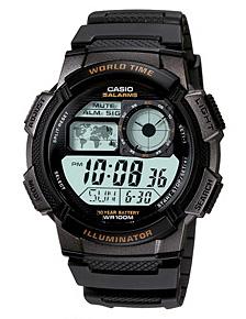 นาฬิกาข้อมือชาย ยี่ห้อ casio รุ่น AE-1000W-1AVDF
