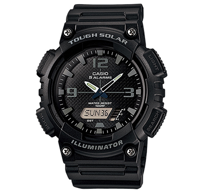 นาฬิกาข้อมือชาย ยี่ห้อ casio รุ่น AQ-S810W-1A2VDF