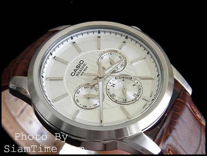 นาฬิกา ยี่ห้อ คาสิโอ รุ่น BEM-307L-7AVDF