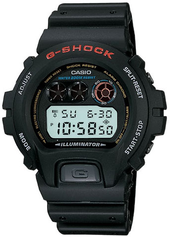 นาฬิกาข้อมือ casio รุ่น DW-6900-1DR