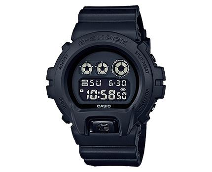 นาฬิกาบอกเวลา แบบดิจิตอล casio รุ่น DW-6900BB-1DR