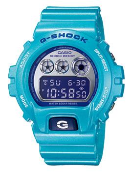 นาฬิกาข้อมือแฟชั่น casio รุ่น DW-6900CB-2DR