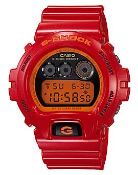 นาฬิกาผู้ชาย ยี่ห้อ casio รุ่น DW-6900CB-4DR