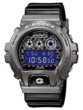 นาฬิกาบอกเวลา แบบดิจิตอล casio รุ่น DW-6900SC-8DR