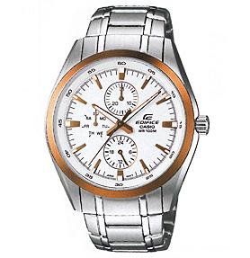 นาฬิกาข้อมือชาย casio รุ่น EF-338DB-7AVDF