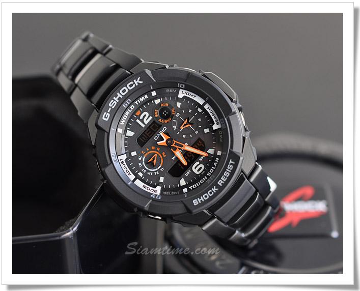 นาฬิกา ยี่ห้อ คาสิโอ รุ่น  G-1250BD-1ADR