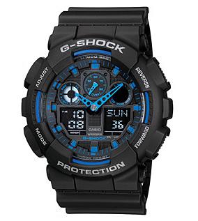 นาฬิกาข้อมือชาย casio รุ่น GA-100-1A2DR