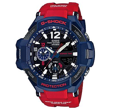 นาฬิกาข้อมือชาย ยี่ห้อ Casio รุ่น GA-1100-2ADR