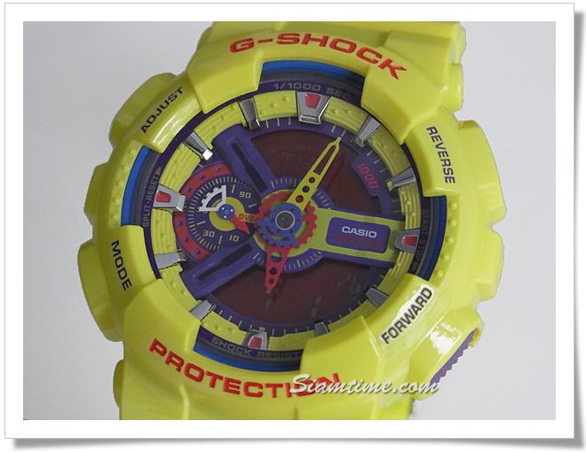 นาฬิกาวัยรุ่น G-Shock ร่น GA-110A-9DR