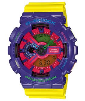 นาฬิกา ยี่ห้อ คาสิโอ รุ่น  GA-110HC-6ADR