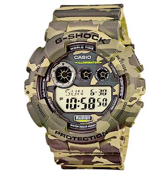 นาฬิกาข้อมือชาย ยี่ห้อ casio รุ่น GD-120CM-5DR