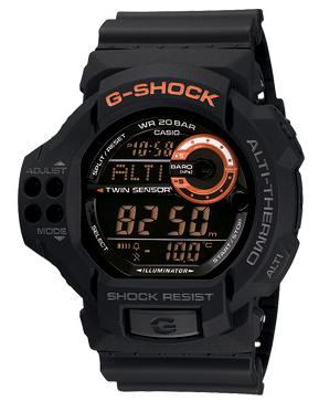 นาฬิกา ยี่ห้อ คาสิโอ รุ่น GDF-100-1BDR