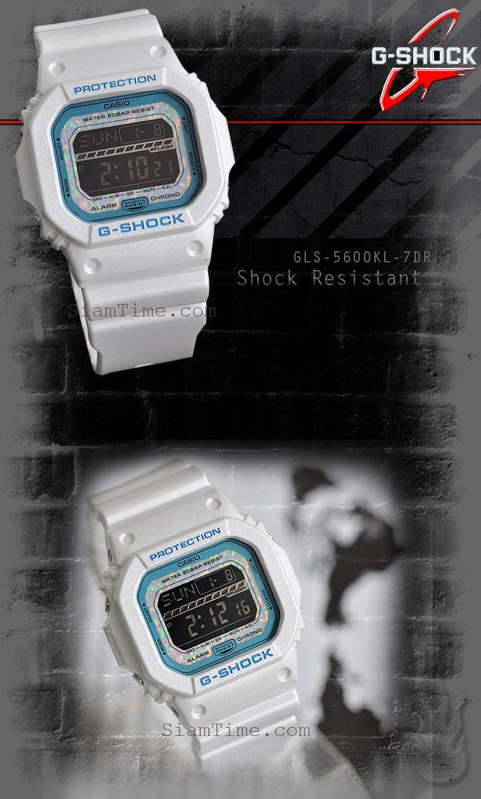 นาฬิกาข้อมือชาย ยี่ห้อ Casio รุ่น GLS-5600KL-7DR