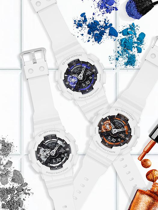 นาฬิกาวัยรุ่น G-Shock GMA-S110CW-7A1DR